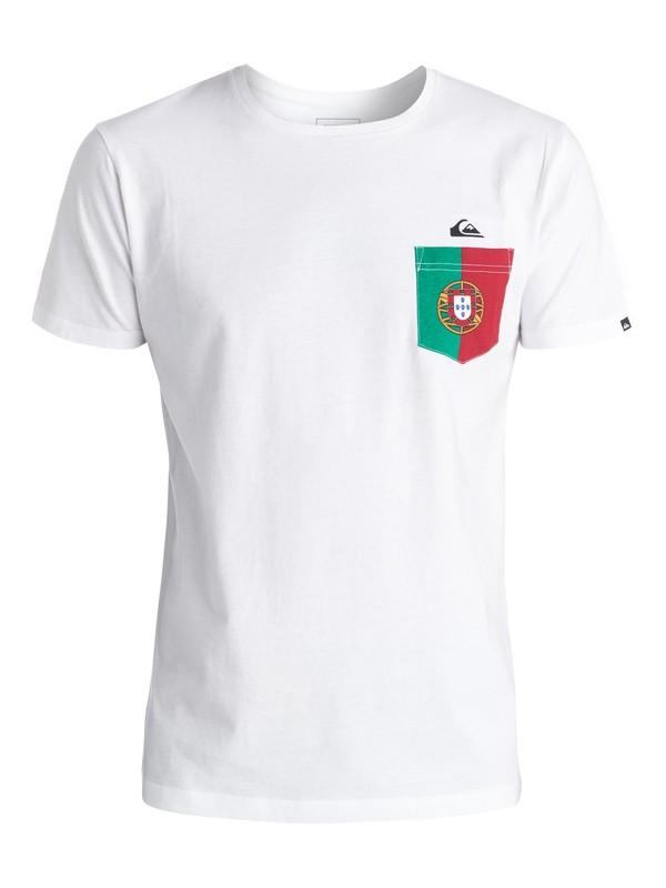 0 Portuguese Team - Tee-shirt  EQYZT04200 Quiksilver