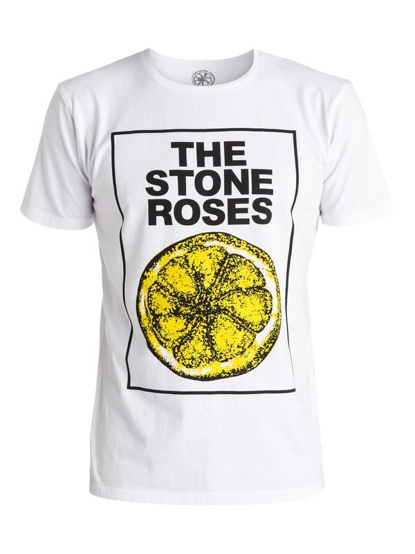 0 Stone Roses Lemon - Tee-Shirt  EQYZT04206 Quiksilver