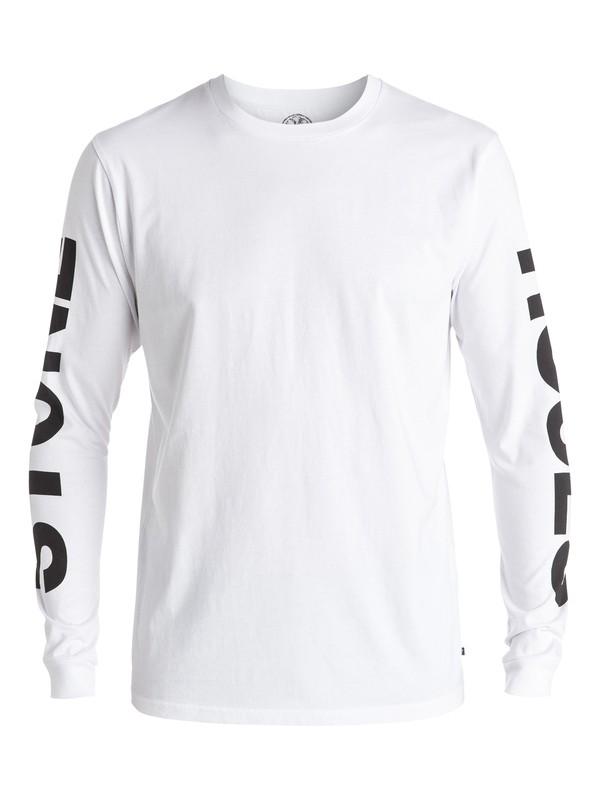 0 Stone Roses Lemon - Tee-Shirt à manches longues  EQYZT04208 Quiksilver