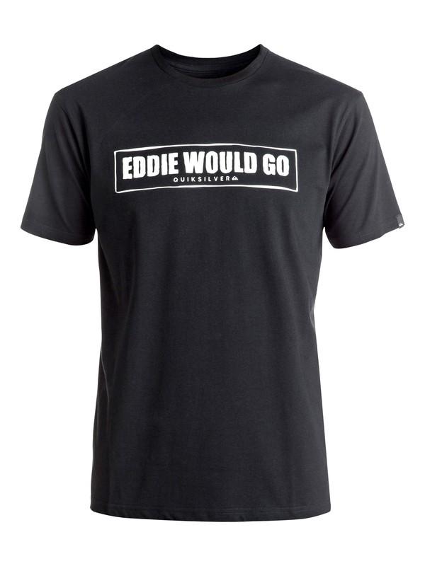 0 Eddie Would Go - Tee-Shirt Noir EQYZT04257 Quiksilver