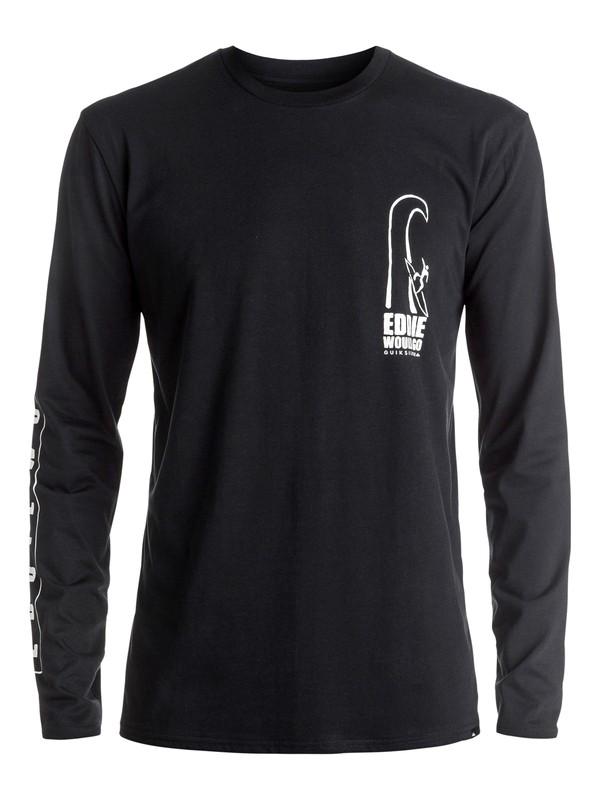0 Eddie Would Go - Tee-Shirt à manches longues Noir EQYZT04258 Quiksilver