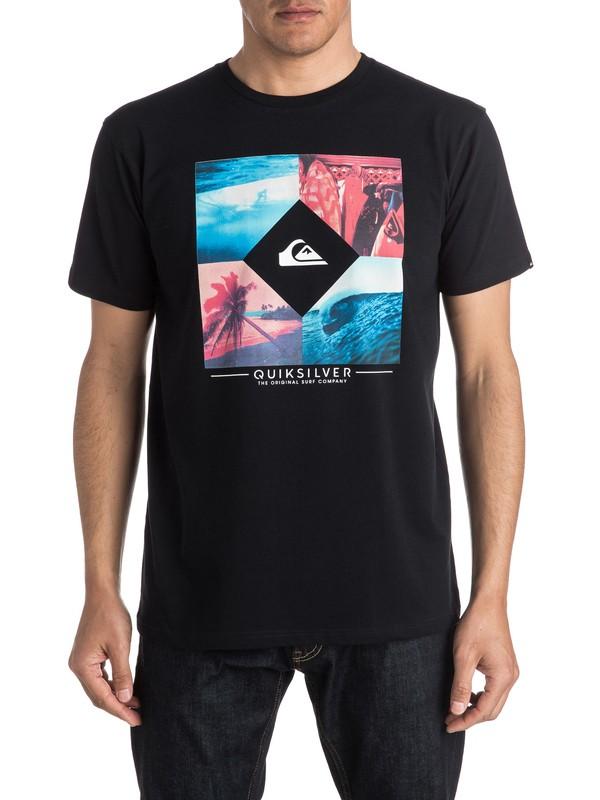 0 Classic Bright Diamond - Tee-Shirt  EQYZT04260 Quiksilver