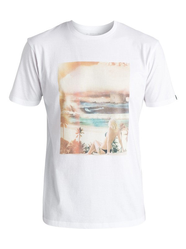 0 Classic World War Pipe - Camiseta Blanco EQYZT04261 Quiksilver