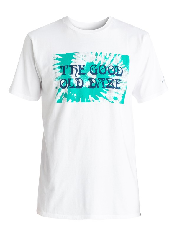 0 Good Old Daze - Tee-Shirt Blanc EQYZT04267 Quiksilver