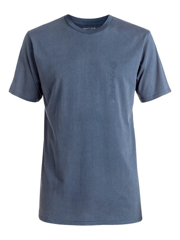 0 Shattered - Tee-Shirt Bleu EQYZT04269 Quiksilver