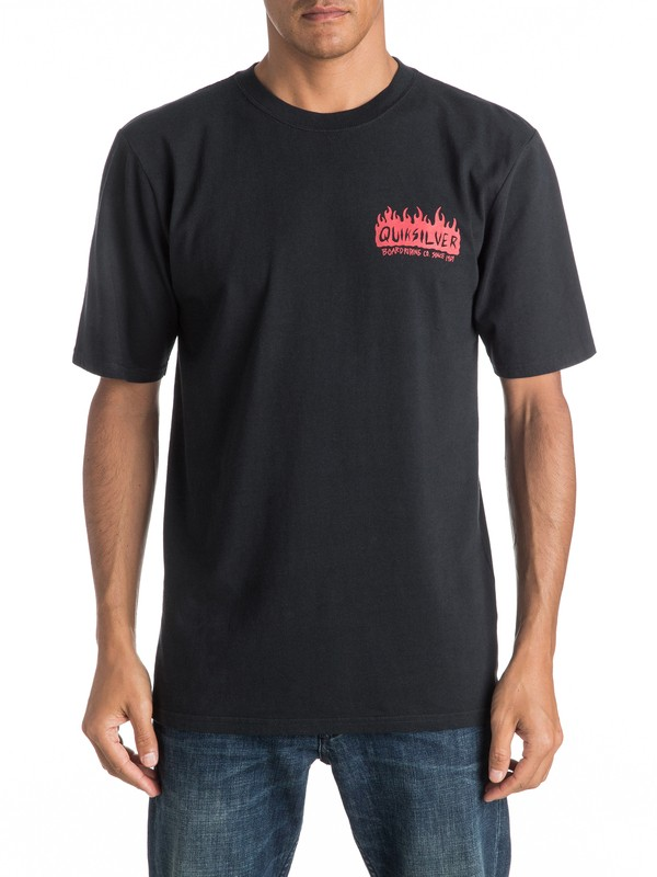 0 Lit Up - Tee-Shirt  EQYZT04270 Quiksilver