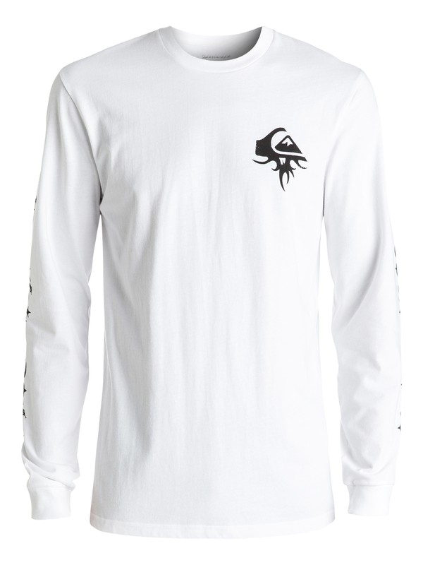 0 Born Thorny Long Sleeve Tee White EQYZT04271 Quiksilver