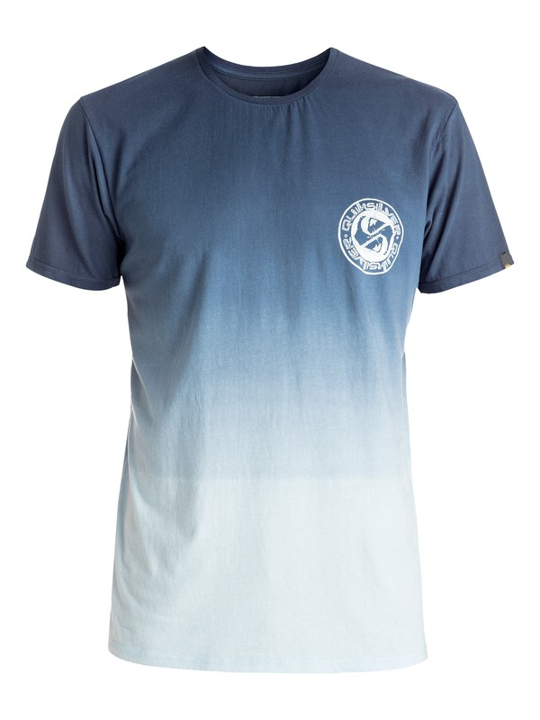 0 Specialty Triple Fade - Tee-Shirt Bleu EQYZT04279 Quiksilver