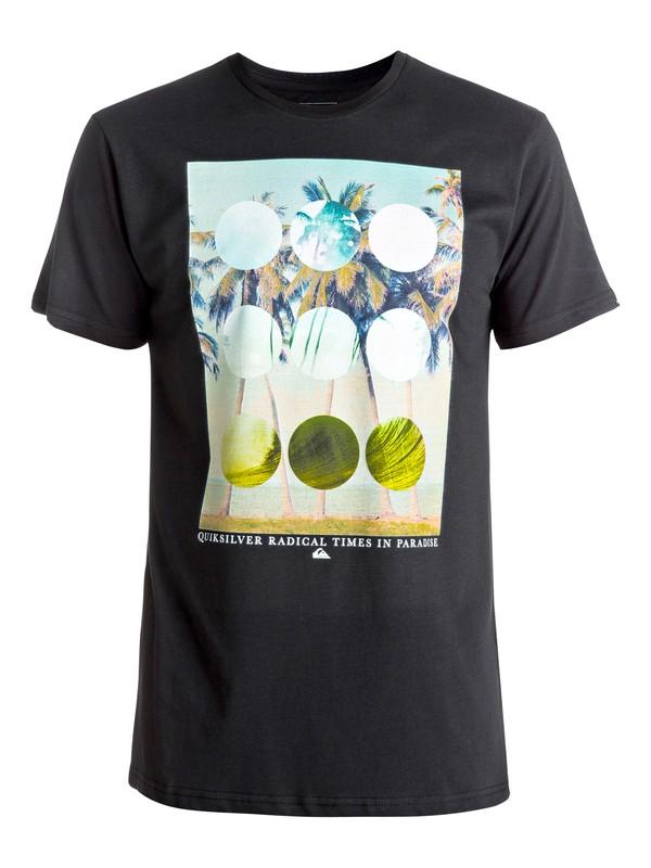 0 Classic Lost Paradise - Tee-Shirt Noir EQYZT04282 Quiksilver