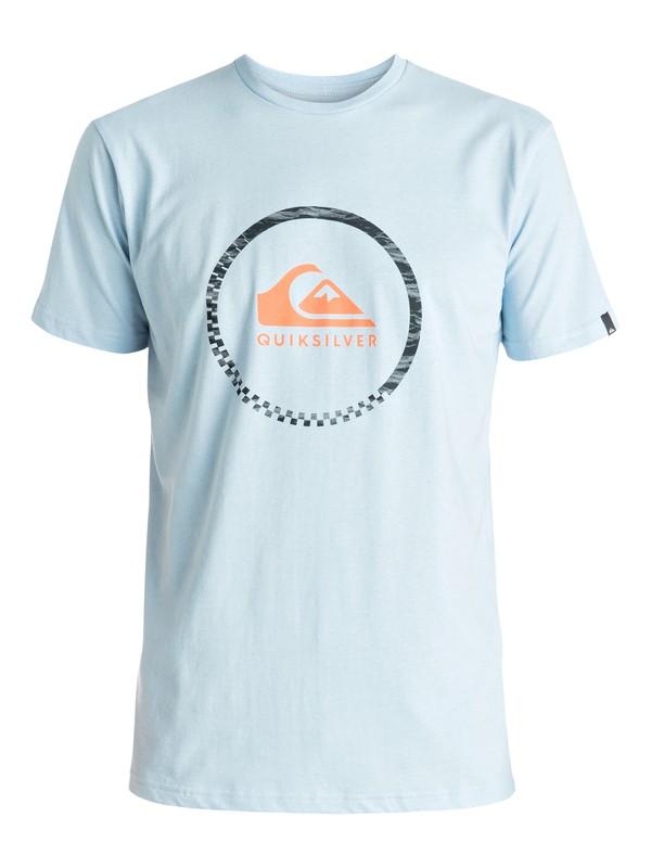 0 Classic Active Logo 3.0 - Tee-Shirt Bleu EQYZT04285 Quiksilver