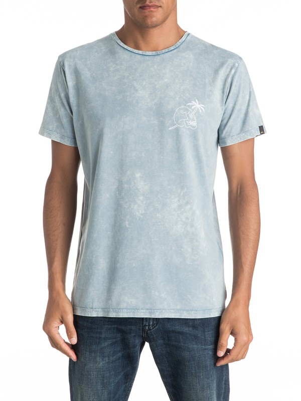 0 Specialty Palm Skull - Tee-Shirt  EQYZT04292 Quiksilver