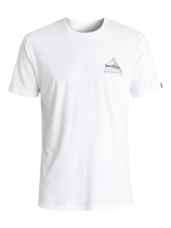 0 Garment Dye Solstice - Tee-Shirt Blanc EQYZT04295 Quiksilver