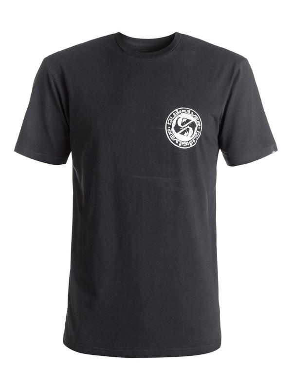 0 Classic Balanced 69 - Tee-Shirt Noir EQYZT04297 Quiksilver