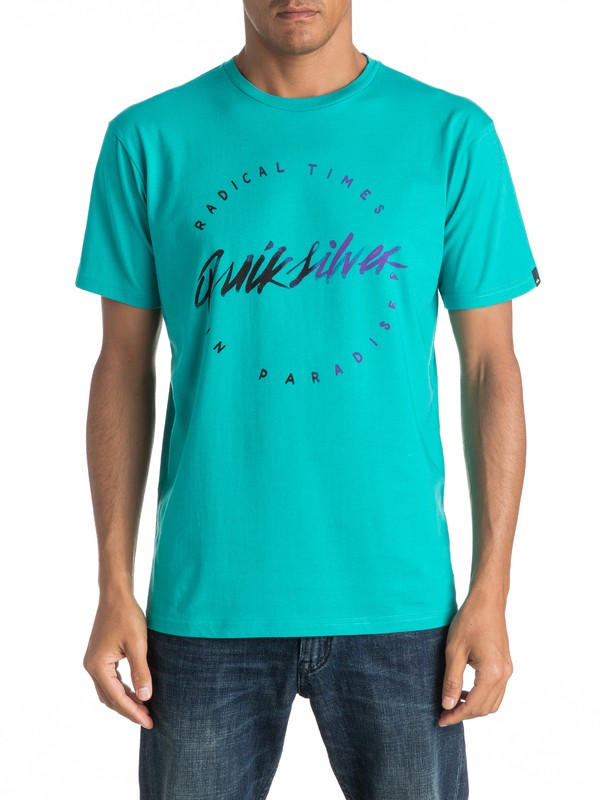 0 Classic Right Up - Tee-Shirt  EQYZT04306 Quiksilver