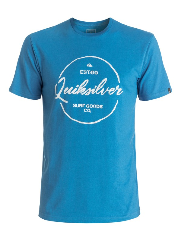 0 Classic Silvered - Tee-Shirt  EQYZT04309 Quiksilver