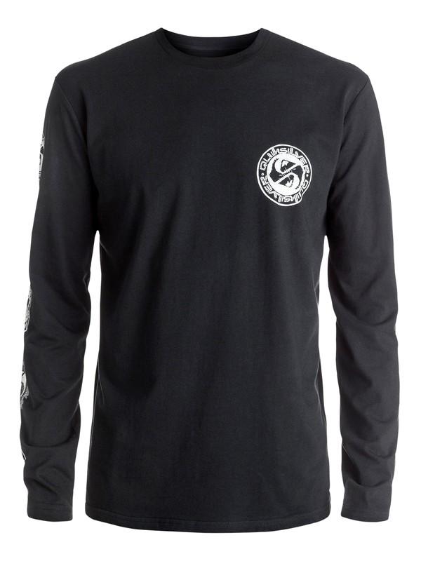 0 Classic Balanced 69 - Tee-Shirt à manches longues Noir EQYZT04319 Quiksilver