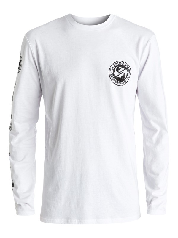 0 Classic Balanced 69 - Tee-Shirt à manches longues Blanc EQYZT04319 Quiksilver