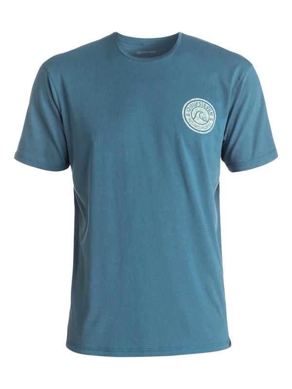 0 Garment Dye Zing Zang - Tee-Shirt  EQYZT04329 Quiksilver