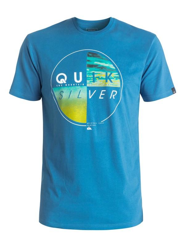 0 Футболка Classic Blazed Синий EQYZT04330 Quiksilver