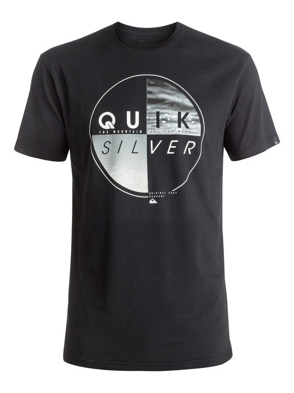 0 Футболка Classic Blazed Черный EQYZT04330 Quiksilver