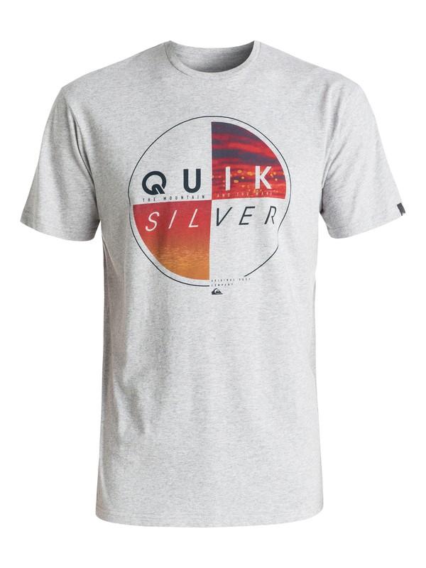 0 Футболка Classic Blazed Серый EQYZT04330 Quiksilver