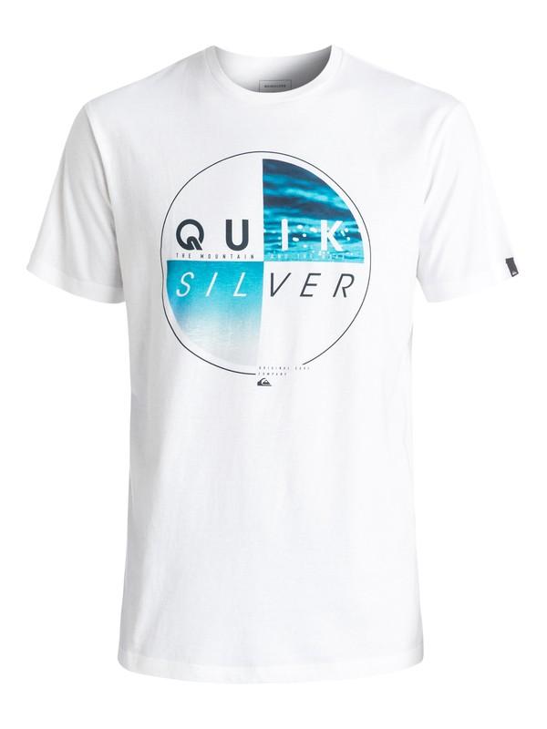 0 Футболка Classic Blazed Белый EQYZT04330 Quiksilver