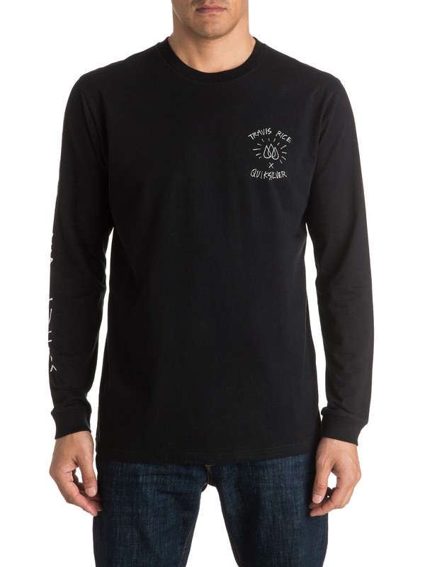 0 Travis Rice - Tee-Shirt à manches longues  EQYZT04396 Quiksilver