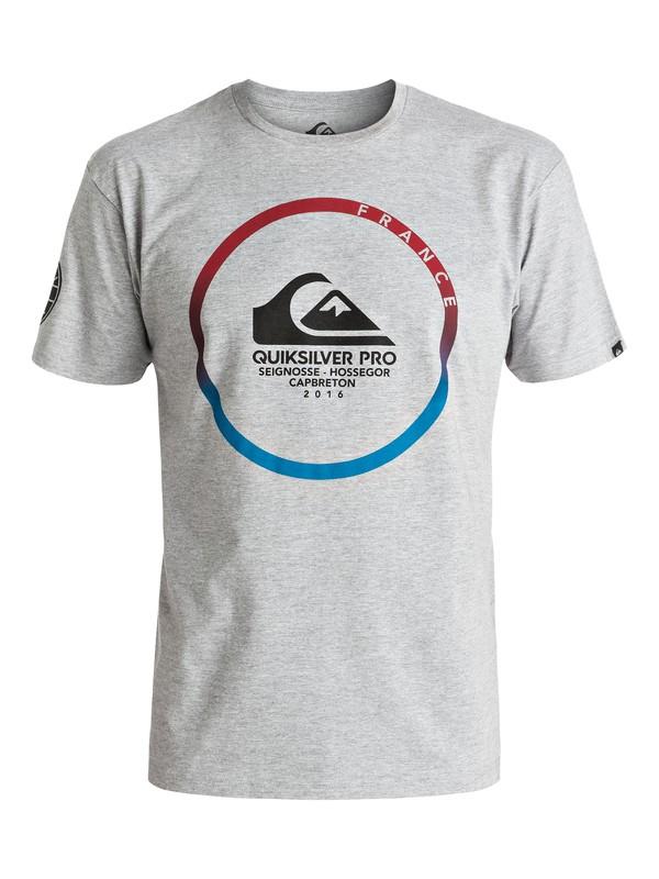 0 QS Pro France 2016 - Tee-Shirt  EQYZT04425 Quiksilver