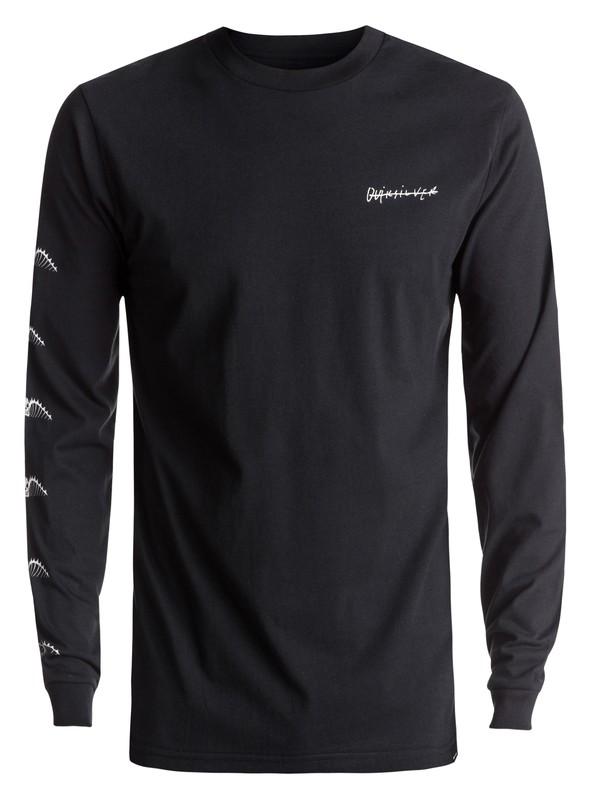 0 Malibu Motion - Long Sleeve T-Shirt Black EQYZT04470 Quiksilver