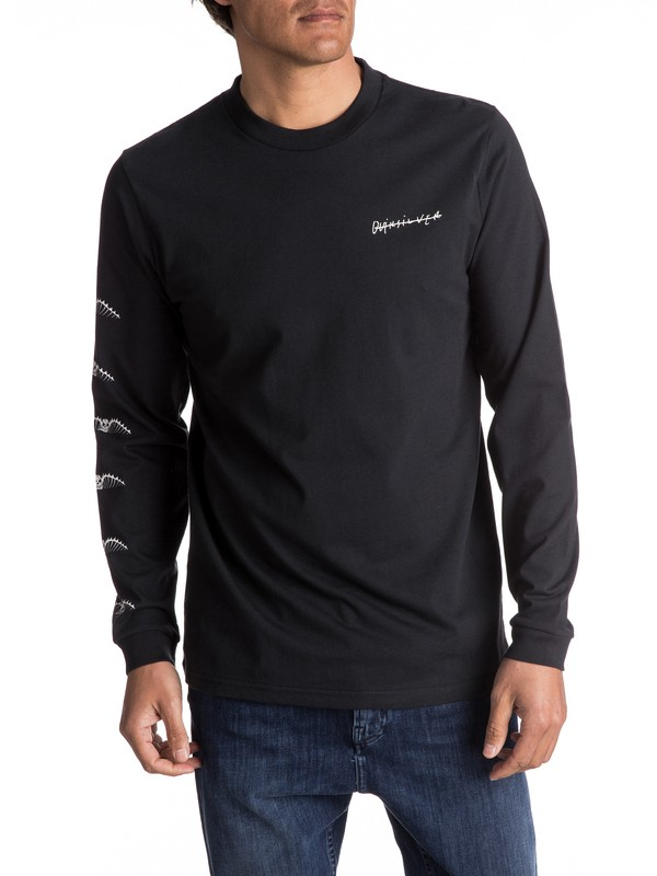 0 Malibu Motion - Long Sleeve T-Shirt  EQYZT04470 Quiksilver
