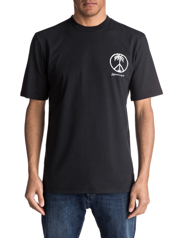 0 Peace On The Beach - Tee-Shirt  EQYZT04475 Quiksilver