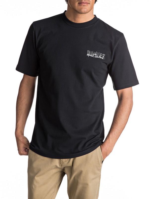 0 Neon Tendencies - Tee-Shirt Noir EQYZT04476 Quiksilver
