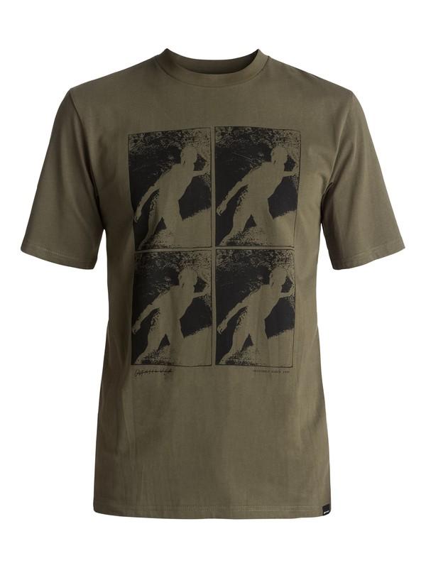 0 Topanga Trippin - Tee-Shirt Marron EQYZT04477 Quiksilver