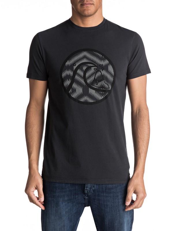 0 Neon Smog - Tee-Shirt Noir EQYZT04490 Quiksilver