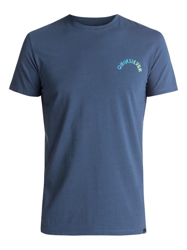 0 Original Blend - Tee-Shirt Bleu EQYZT04492 Quiksilver