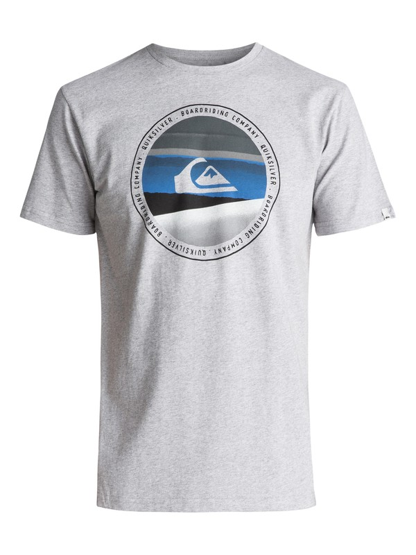 0 Classic Last Tree - Tee-Shirt Gris EQYZT04498 Quiksilver