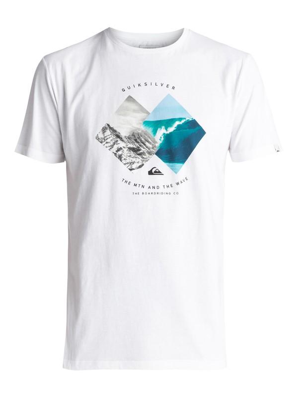 0 Classic Pleasure Zone - Maglietta White EQYZT04503 Quiksilver
