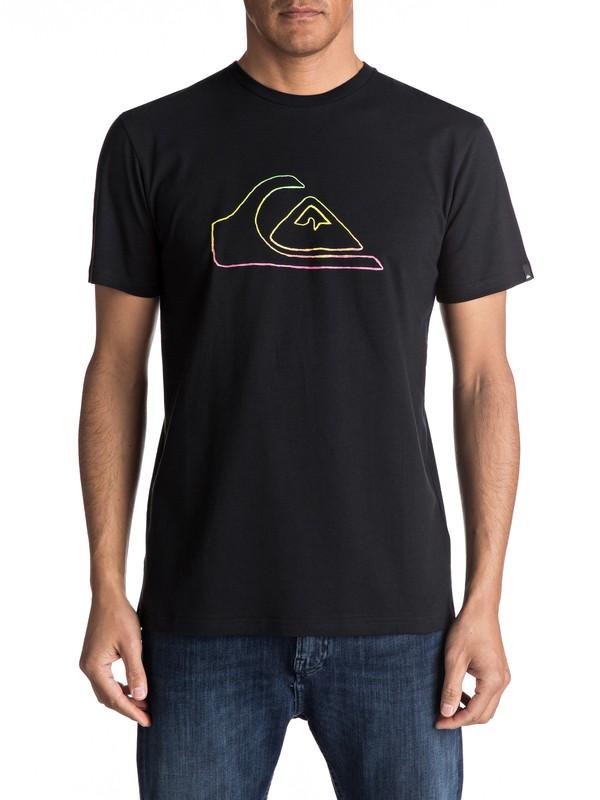 0 Classic Jungle Mountain - T Shirt  EQYZT04530 Quiksilver