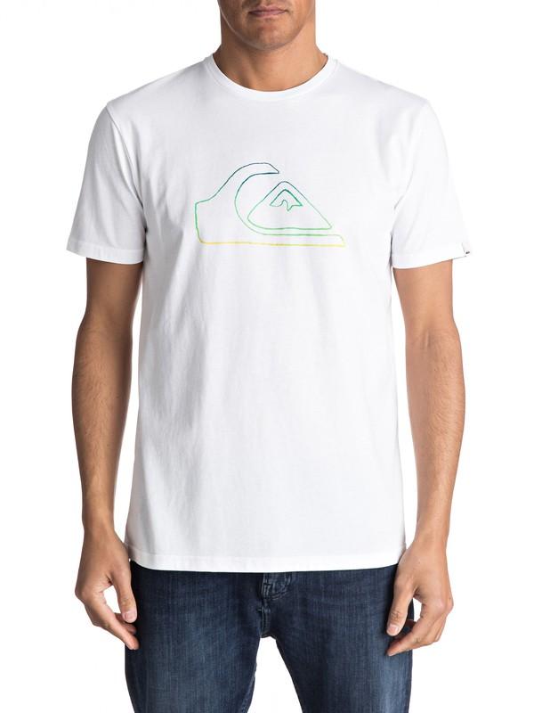0 Classic Jungle Mountain - Maglietta White EQYZT04530 Quiksilver