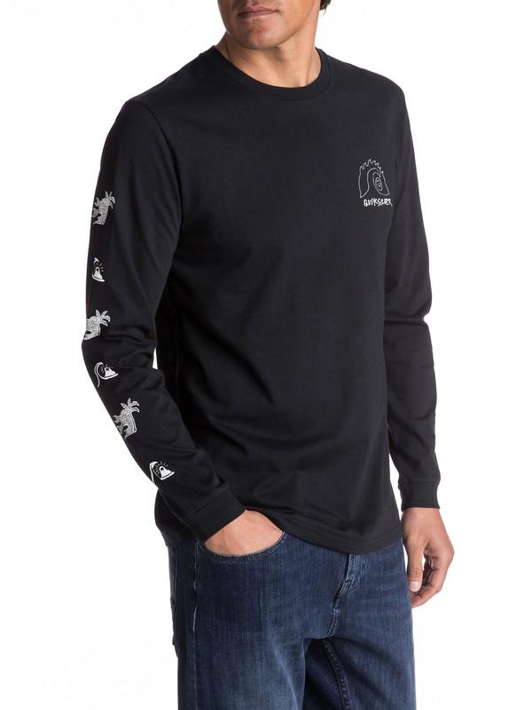 0 Eastman Venice Bliss - T Shirt à manches longues  EQYZT04535 Quiksilver