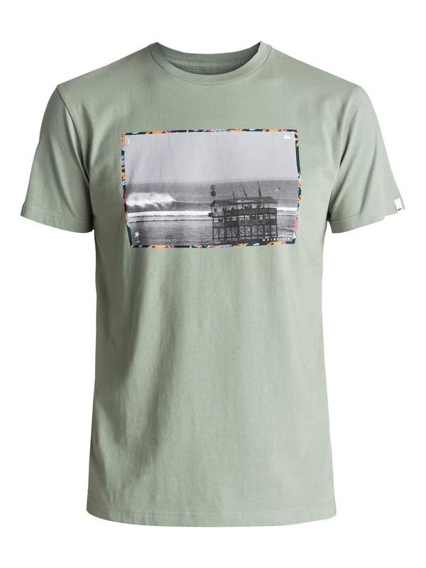 0 Premium Eastman Comp Soul - T Shirt col rond Vert EQYZT04540 Quiksilver