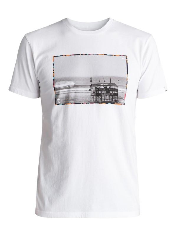 0 Premium Eastman Comp Soul - T Shirt col rond Blanc EQYZT04540 Quiksilver