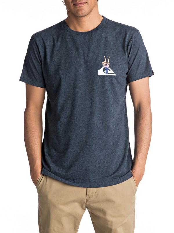 0 Premium East Peace Cave - T Shirt col rond  EQYZT04545 Quiksilver