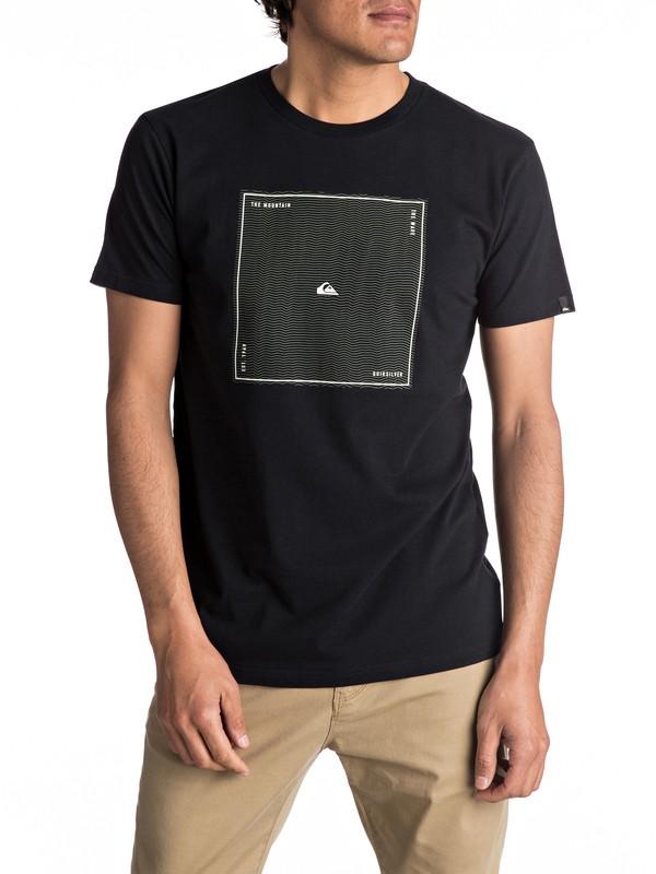 0 Premium Heat Waves - T Shirt col rond Noir EQYZT04546 Quiksilver