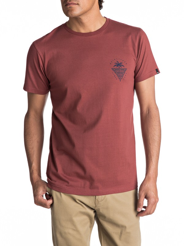 0 Sust East Palm Break - T Shirt col rond  EQYZT04549 Quiksilver