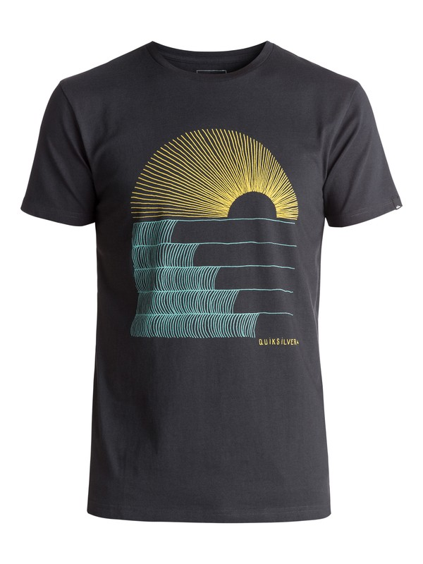 0 Sust East Morning Glide Tee Black EQYZT04550 Quiksilver