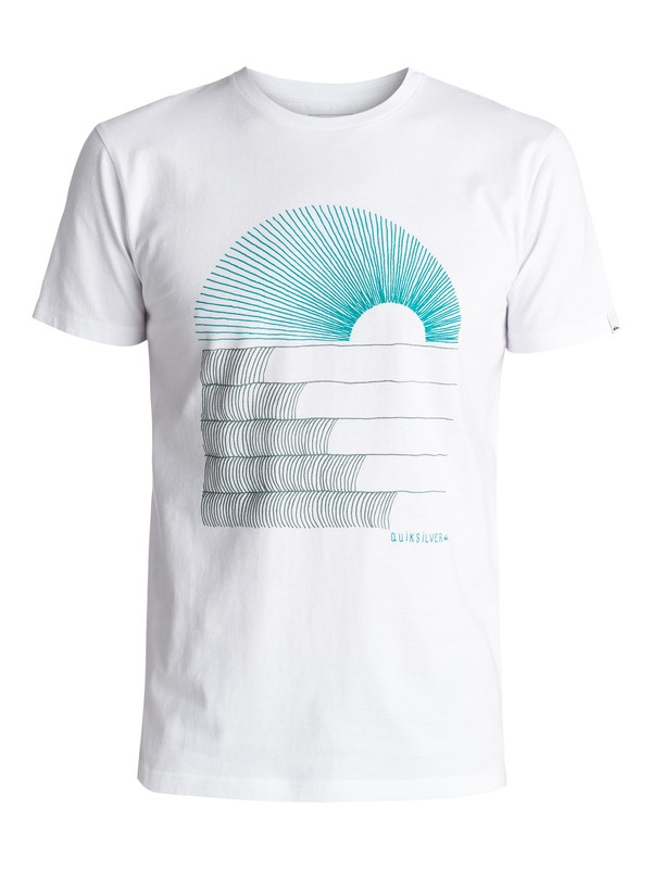 0 Sust East Morning Glide Tee White EQYZT04550 Quiksilver