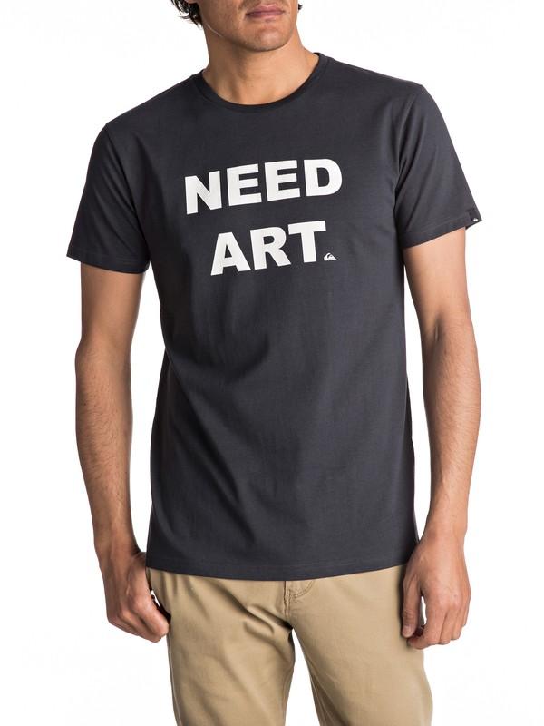 0 Sust East Need Art - T Shirt  EQYZT04551 Quiksilver