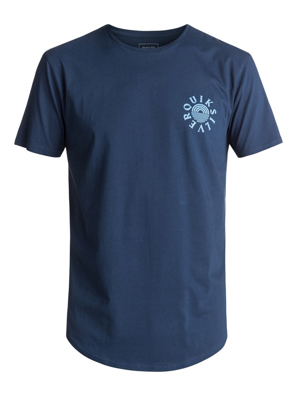 0 Scallop East Rising Dogs - T Shirt  EQYZT04554 Quiksilver
