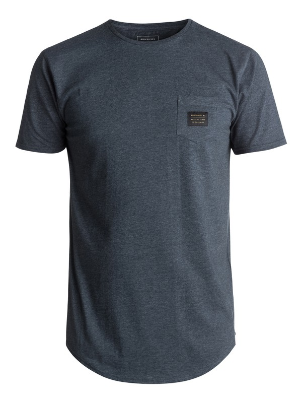 0 Scallop East Woven Tee Blue EQYZT04555 Quiksilver